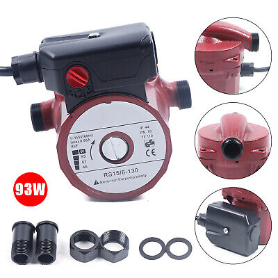 Npt 34 Electric Booster Pump Household Domestic Water Circulation Pump 115v