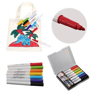 7Pcs Ceramic Pens Paint Shirt Mug Graffiti Drawing Waterproof UK