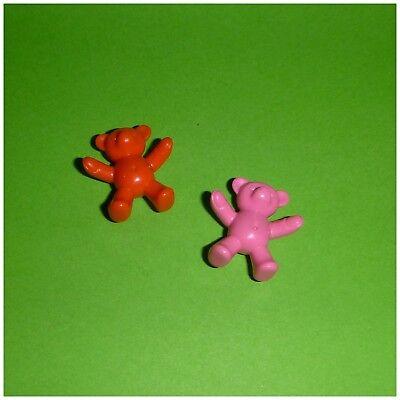 Playmobil - 2 Teddy Teddys Bären - Kinderzimmer (Teddys Bären)