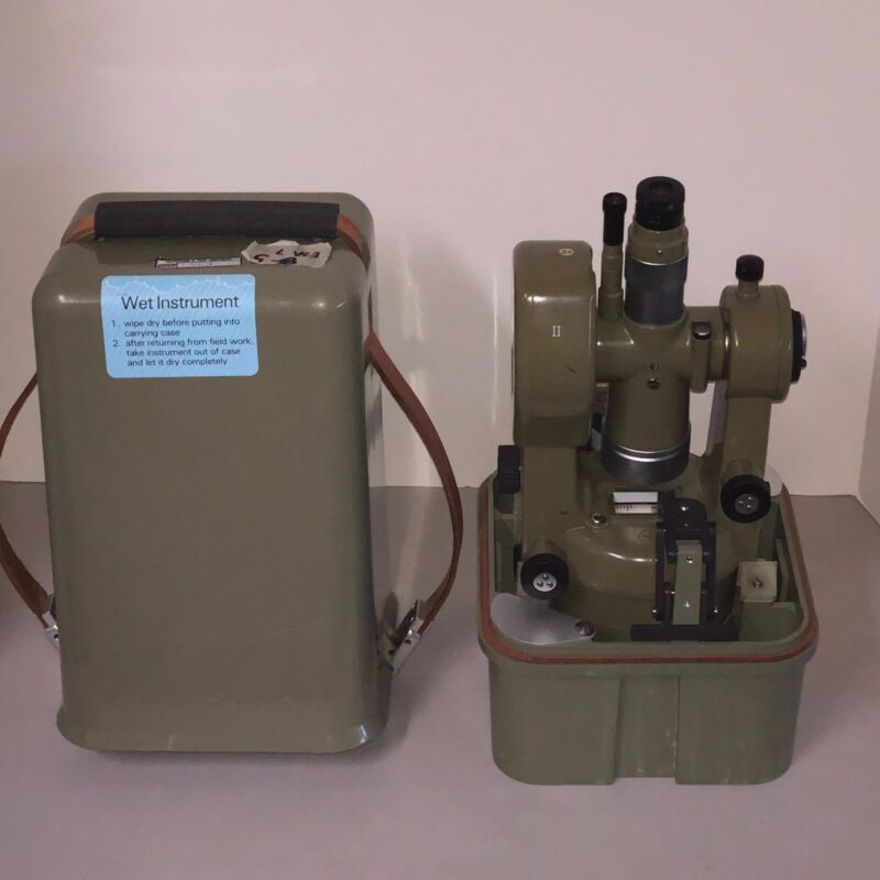 Kern Swiss Model DKM2-A Theodolite With Case