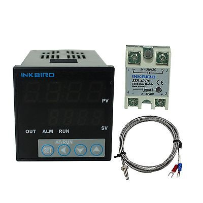 Itc-106vh Digital Pid Temperature Controller K Sensor 40 A Ssr Heater Fan