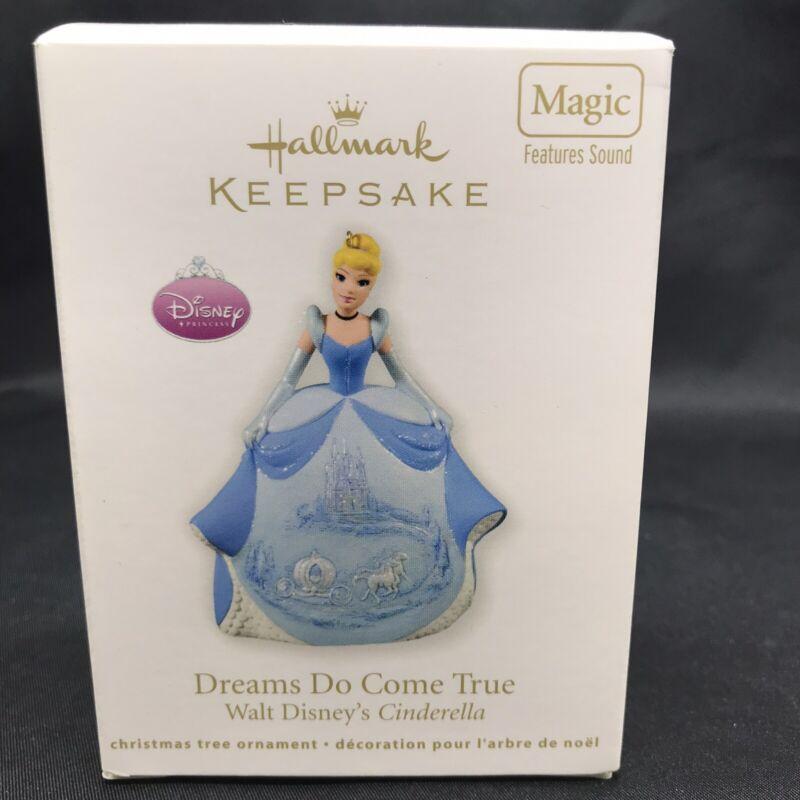 Hallmark 2011 Keepsake Ornament Dreams Do Come True Disney Cinderella  - NEW