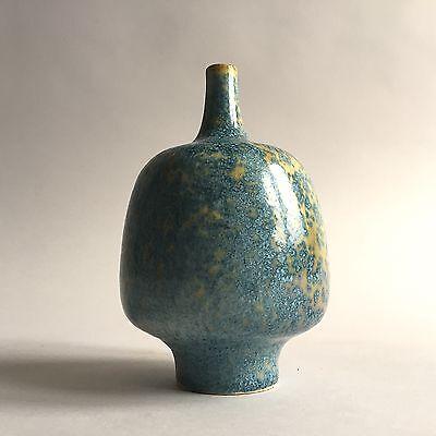** Horst Kerstan  * Unikat * 1967  * Vase *  Studiokeramik * Kristallglasur *