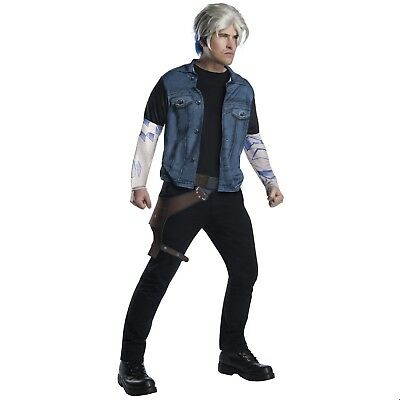 Mens Ready Player One Wade Owen Watts Parzival Vest Wig Halloween Costume STD XL - Quick Halloween Costumes For Men