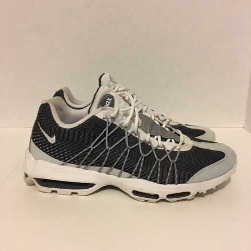 Mens Nike Air Max 95 Ultra JCRD Night Silver Grey Crimson