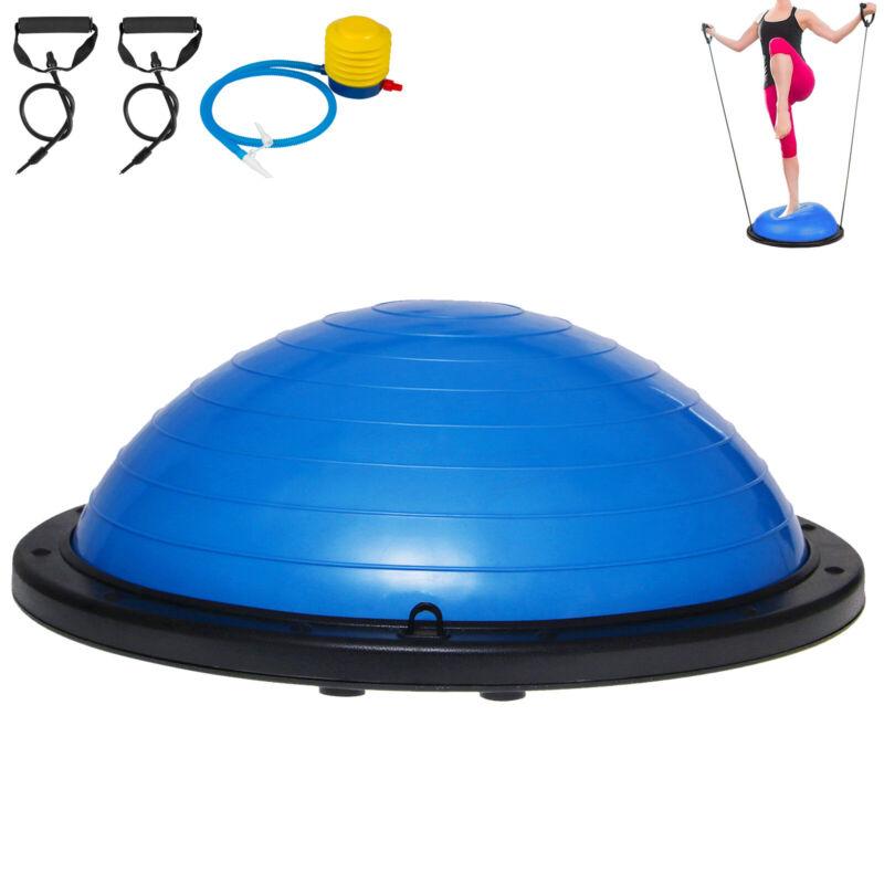 23 Balance Yoga Trainer Ball Kit W/ Pump Blue Outdoor Strength Aerobic