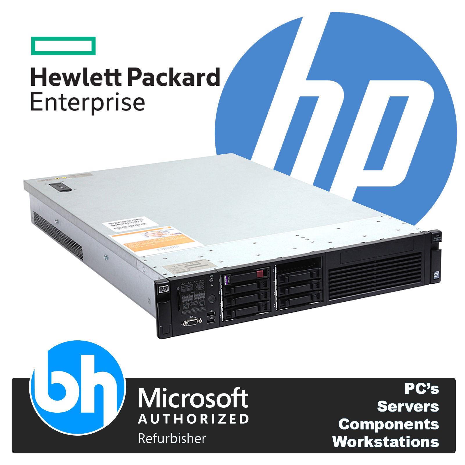 HP ProLiant DL380 G6 Configurable Used Rack Server 2x Quad / Hex Xeon Cores 64GB