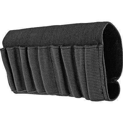 Rifle Buttstock Ammo Cartridge Holder Shell Holster Carrier Black Elastic Nylon Ammunition Belts & Bandoliers