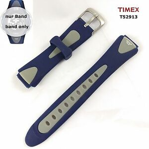 Timex Replacement Band t52913 1440 Sports Spare Watch 0 5/8/0 7/8in Silicone