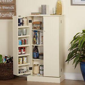 Tall Utility Kitchen Pantry Storage Organizer Hutch Cabinet Buffet NEW