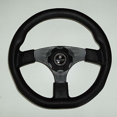 New OEM GUSSI ITALIA Boat Steering Wheel  KEYED HUB