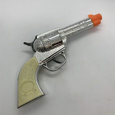 2009 Imperial Legends of The Wild West Silver & White Toy Cap Play (Legends Of The Wild West Toy Gun)