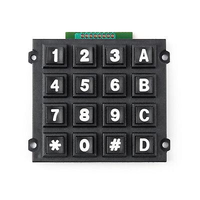 4 X 4 Matrix Array 16 Keys 44 Switch Keypad Big Keyboard Module For Arduino Us