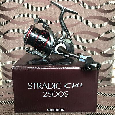 Shimano Stradic CI4 STCI4C3000HGFB Spinnrolle mit Frontbremse 3000FB HG