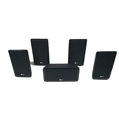 LG 5 Surround Sound Speakers HOME THEATER SB95SA-S SB95SA-F B95SA-C WITH WIRES