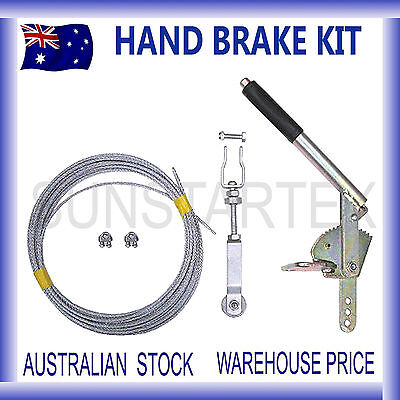 BRAND NEW Trailer Hand Brake Cable kit Electric Brake Camper
