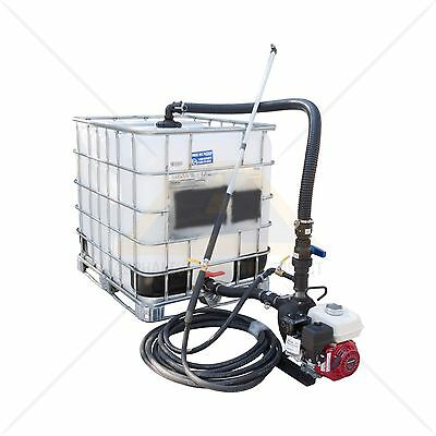 Sealcoating Spray System With 275 Gallon Seal Coat Ibc Tote