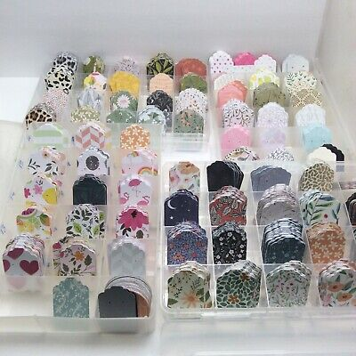 40 Assorted Earring Cards Tags Earring Displays Aprroximately 1.5x2.316