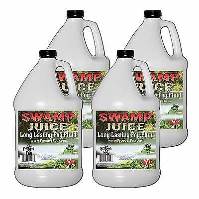 Froggy's Fog Halloween Swamp Juice Long Lasting Fog/Smoke Juice/Fluid 4 Gallon