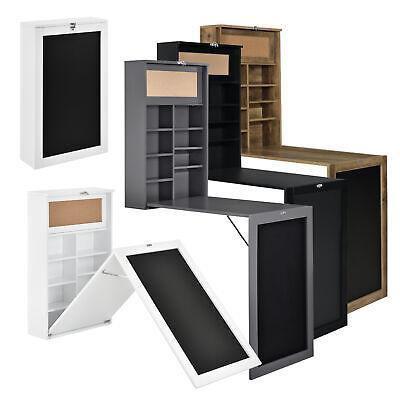 [en.casa] Wandtisch Schreibtisch Tisch Regal Wand Klapptisch aus-klappbar Tafel