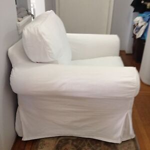 White IKEA EKTORP Chair Downtown-West End Greater Vancouver Area image 4