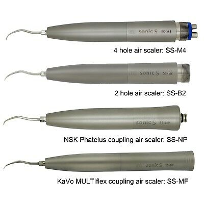 Sonic S Dental Hygienist Air Scaler Handpiece 2 4 Hole Nsk Kavo Coupling Tips