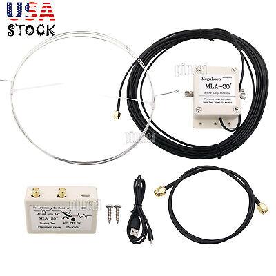 MLA-30 Active Loop Antenna 100KHz-30MHz for Medium Wave Shor