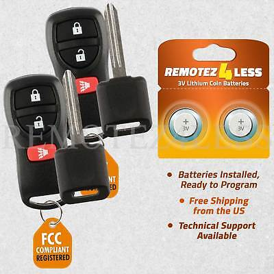 2 Remote for 2004 2005 2006 2007 2008 2009 Nissan Quest Keyless Entry
