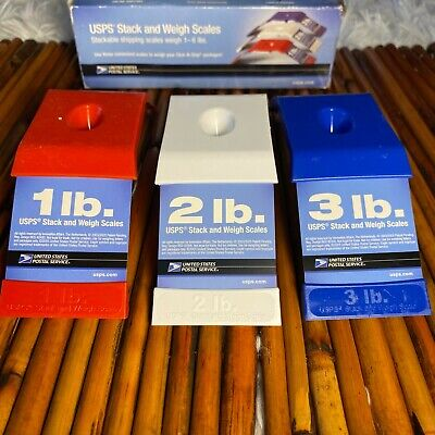 Usps Stack And Weigh Scales 1-6 Lbs.- Free Shipping