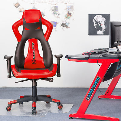 Gaming Chair Racing Style High-back Office Chair Ergonomic Computer Swivel Chair