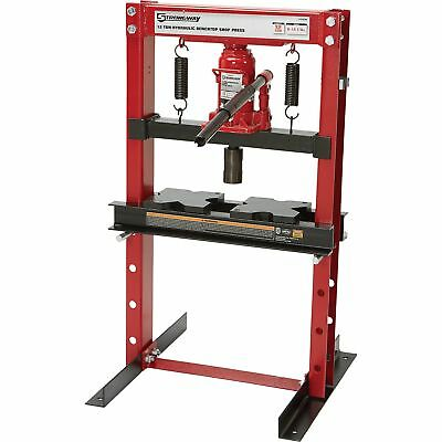 (Strongway Hydraulic Shop Press - 12-Ton Capacity)