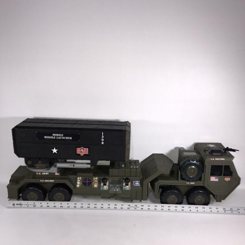 G.I. Joe Motorized Mobile Missile Launcher 2002 Vehicle Hasbro Large SEE DESCR
