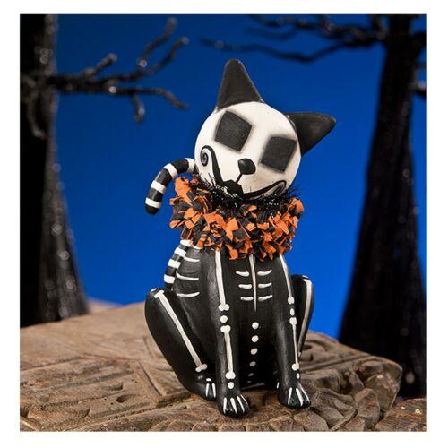 Bethany Lowe Gothic Sugar Skeleton Skelly Cat Nightmare Burton Halloween Decor