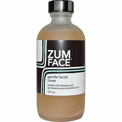 Zum Face, Gentle Facial Toner, Lemon and Geranium, 4 fl -