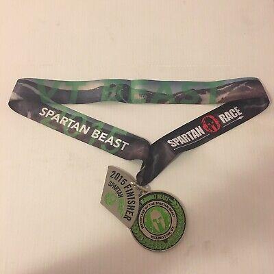 Spartan Race 2015 Killington Vermont Beast Special Edition Medal 558ef8b2b647