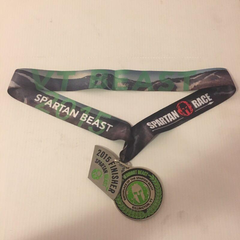 Spartan Race 2015 Killington Vermont Beast Special Edition Medal