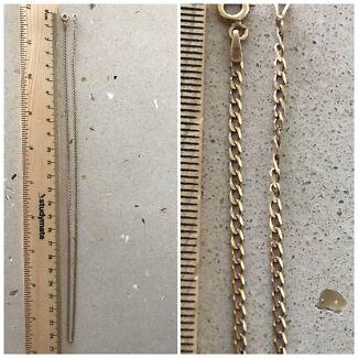 55cm 9 Carat Gold Chain