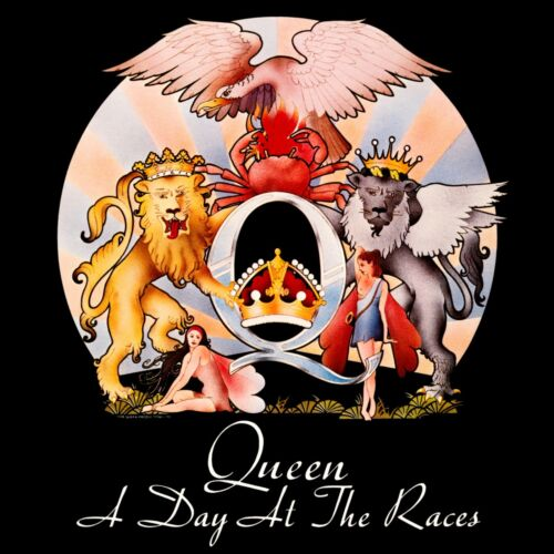 QUEEN A Day at the Races BANNER HUGE 4X4 Ft Fabric Poster Tapestry Flag art