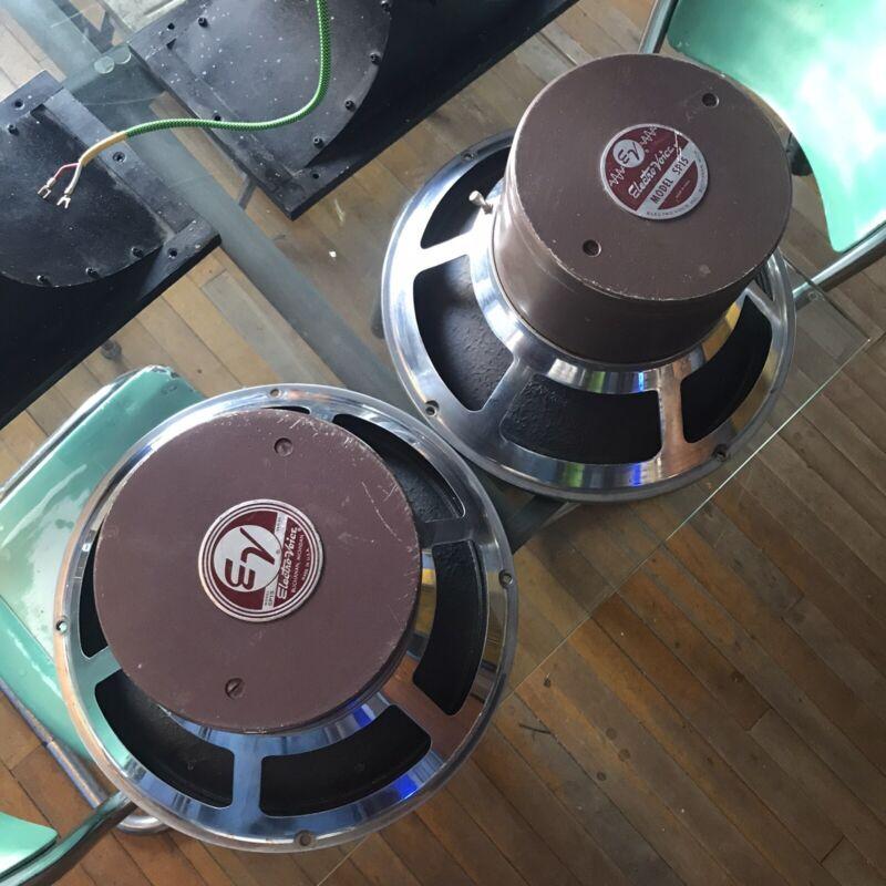 Pair Vintage  Electrovoice SP15  15 in.speakers