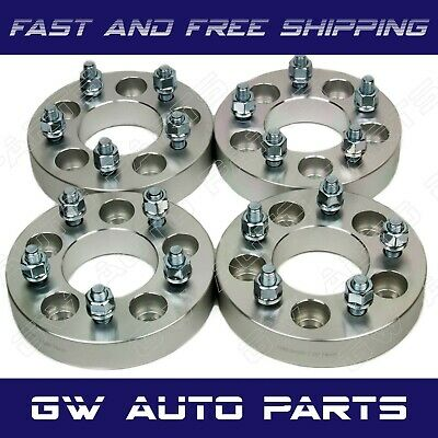 """4 PC 1.25"""" WHEEL SPACER ADAPTERS 6X4.5 to 6X5.5 STUDS 1/2"""" CB 71.5MM DODGE VIPER"""