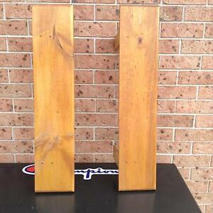 Solid wood shelves Blairmount Campbelltown Area Preview
