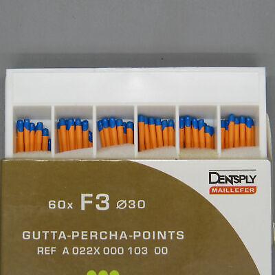 Dentsply Tulsa Protaper Universal F3 Gutta Percha Points Box Of 60 Dental Endo