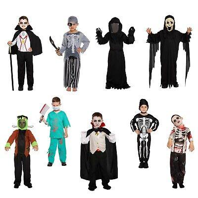 Jungen Halloween Kostüm Verkleiden Outfit Ghost Vampir Monster Zombie - Zombie Kostüm Männliche