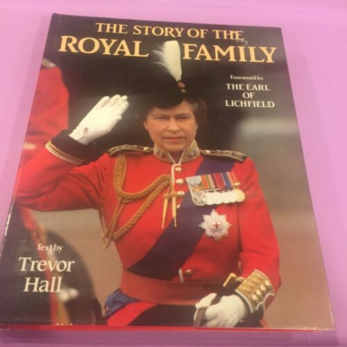 PRINCESS DIANA - THE STORY OF THE ROYAL FAMILY hardcover book rare - photos
