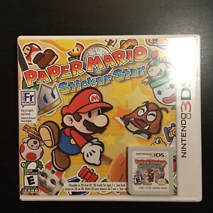 BUY/TRADE PAPER MARIO STICKER STAR NINTENDO 3DS
