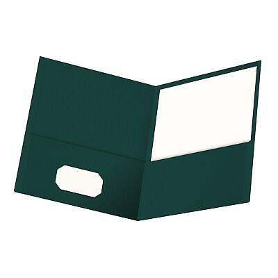 Oxford Twin-pocket Folders Textured Paper Letter Size Teal Holds 100 Sheets