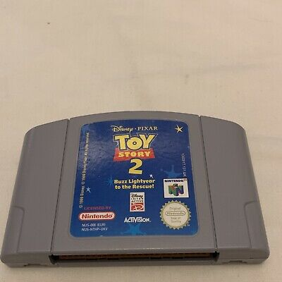 Toy Story 2 N64 Cartridge Only Great Condition Tested & Working