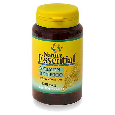 ACEITE DE GERMEN DE TRIGO 500 mg. 60 Perlas - NATURE ESSENTIAL...