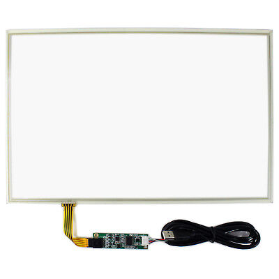 15.4 Resistive Touch Panel With Controller Card For 15.4 1280x800 Lcd Screen