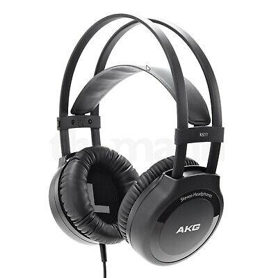 AKG By Harman K511 Auriculares Estéreo Negro Con Accesorio 6.3MM Adapter Nuevo